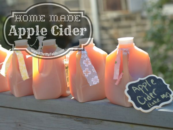 Homemade Apple Cider   Midwest Modern Momma