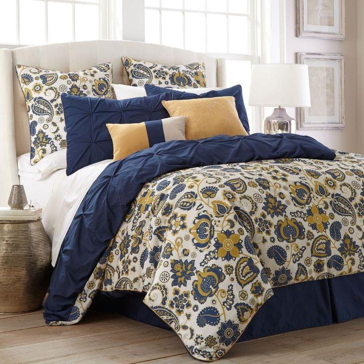 lorna paisley 8 piece comforter set queen bedding u0026 bath