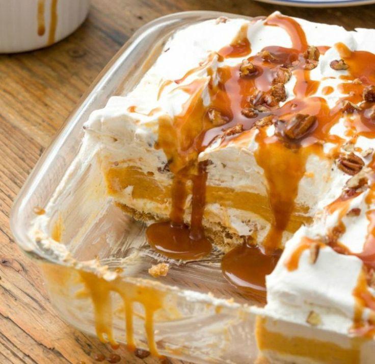 Pumpkin Pie Dessert Lasagna: How To Make Decadent Pumpkin Cheesecake Lasagna