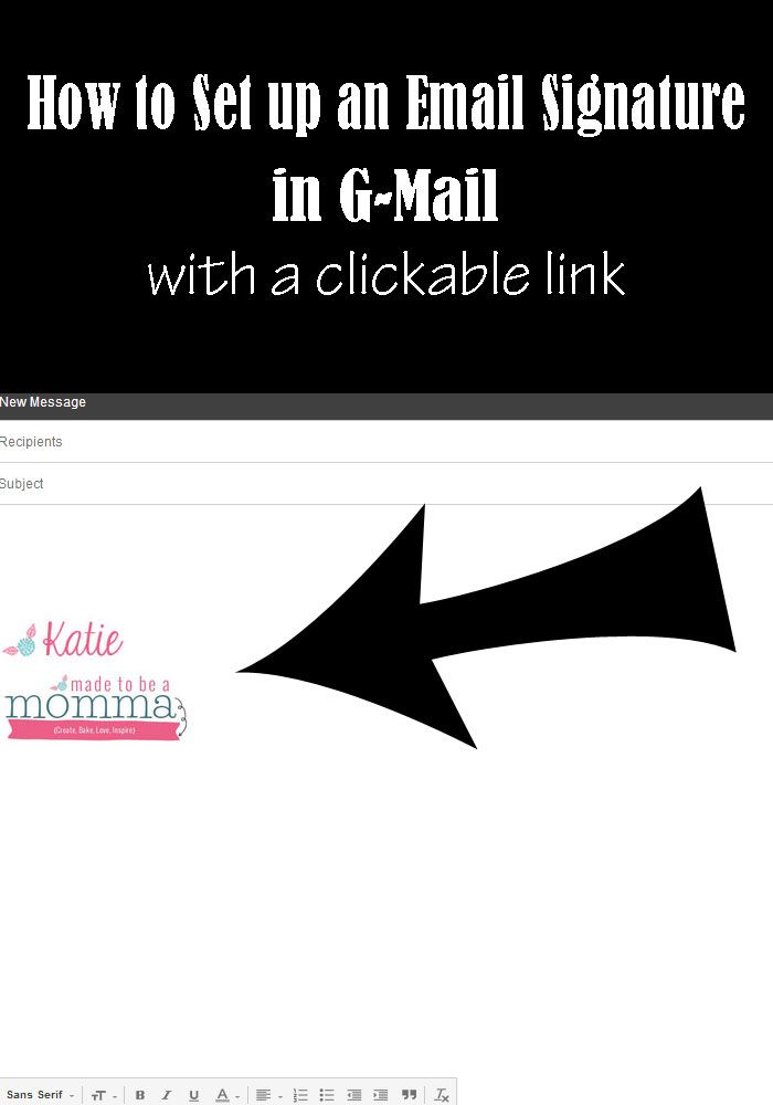 Email-Signature-Tutorial-Made to be a Momm