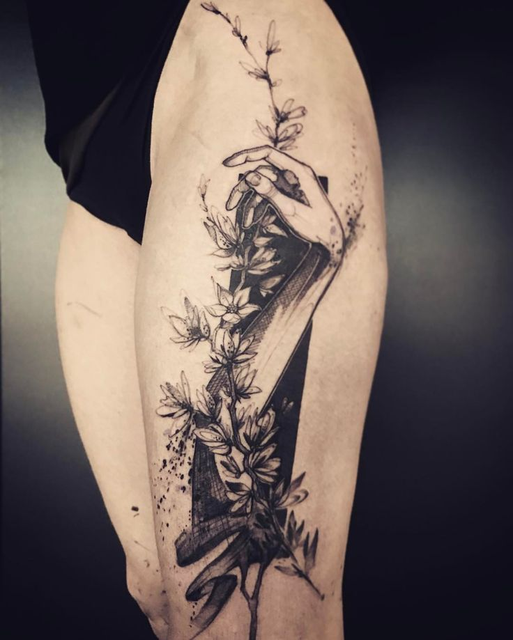 Stunning This Tattoo Artist Uses Real Flowers To Create: 72 Best Amazing Tattoos Sleeves Images On Pinterest