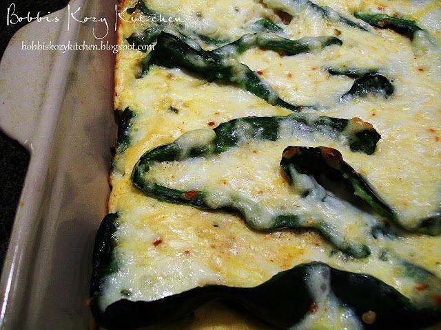 Bobbi's Kozy Kitchen: Search results for Chili rellenos casserole