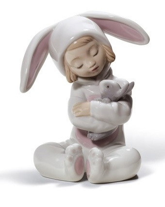 Lladro Bunny Hugs  Available at: www.always-forever.com