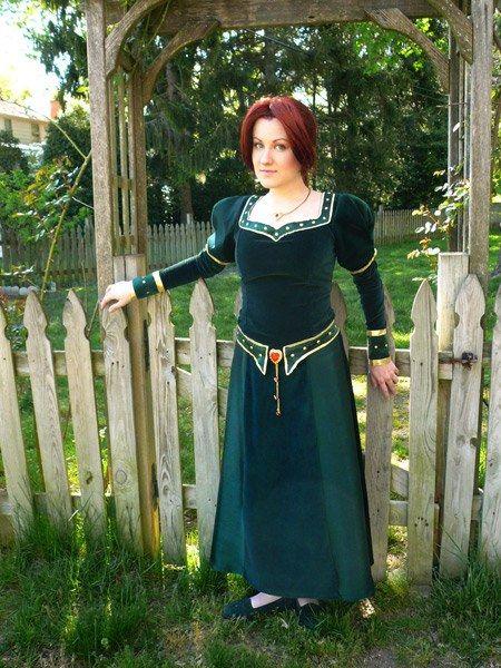 Shrek | Princess Fiona | Redhead Costume/Cosplay