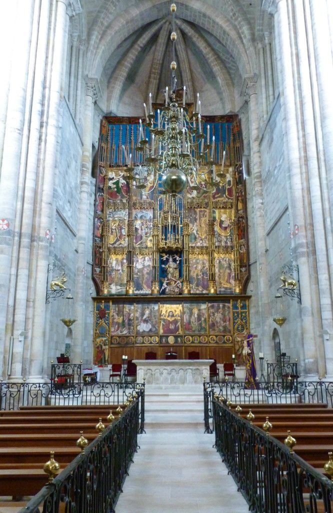 The Cathedral in Tudela, Spain.