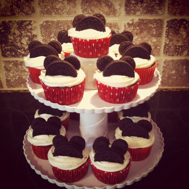 Mickey Mouse Cupcakes For Baby Shower   Just A Thought   Trying To Help You  Not