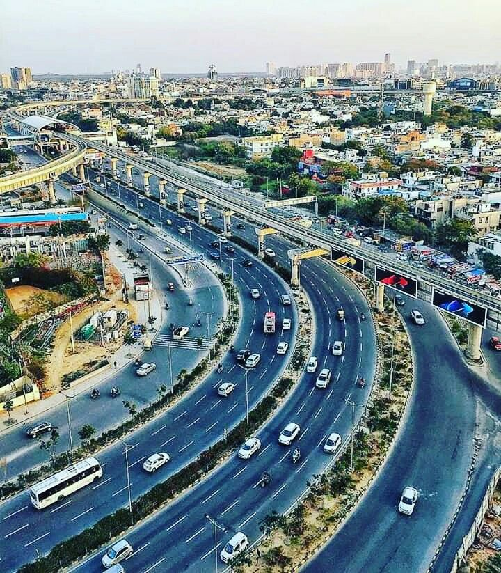 Gurgaon, Haryana. Garden view, Places to visit, Aerial