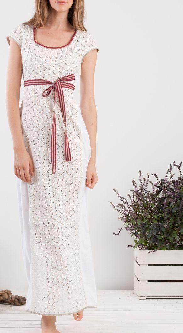 knitwear san gallo lace maxi dress #red #detail #summer #momoé #maxidress #thinkhappy #havefun #summertime