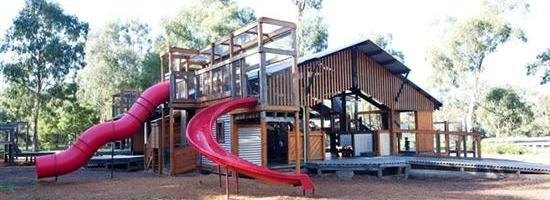 Eltham North Reserve - Adventure Playground, Wattletree Road, Eltham North    Facilities: playground, BBQ, toilets, seats, tables, shelter, water and sports ovals