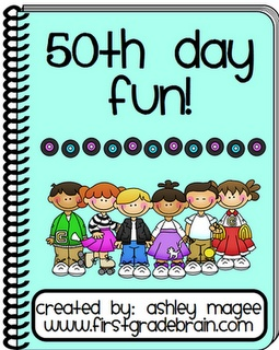 50th day of school unit!!