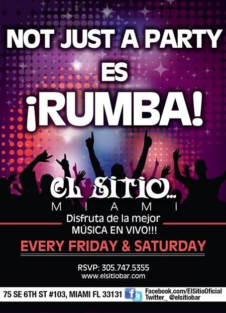 Not just a party es rumba