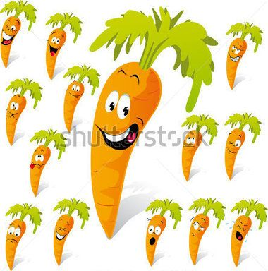 carrot-cartoon-with-many-expressions_75175786.jpg (380×384)
