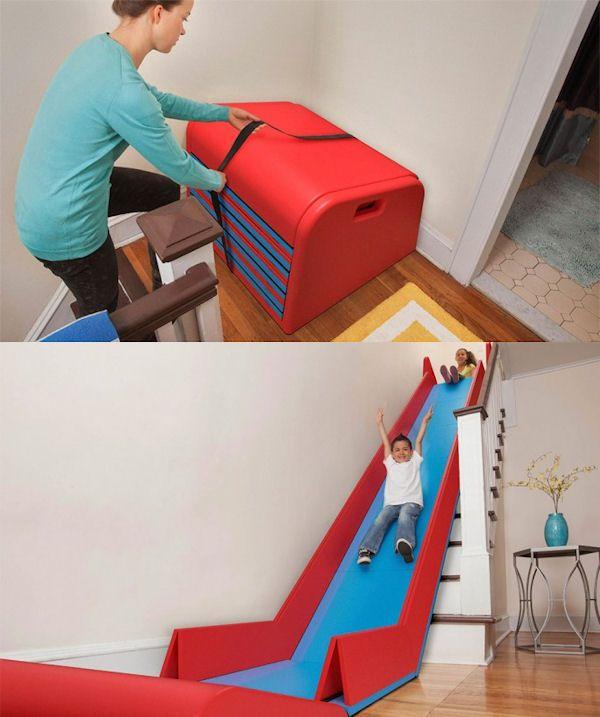 insolite escalier toboggan bricolage pinterest escalier toboggan toboggan et escaliers. Black Bedroom Furniture Sets. Home Design Ideas