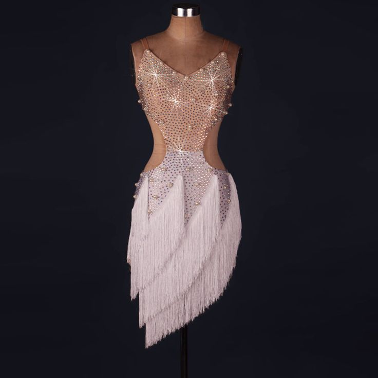 Latin Dance Dress Salsa Tango Cha cha Ballroom Rhinestone Competition Dress 125 | Clothing, Shoes & Accessories, Dancewear, Adult Dancewear | eBay!