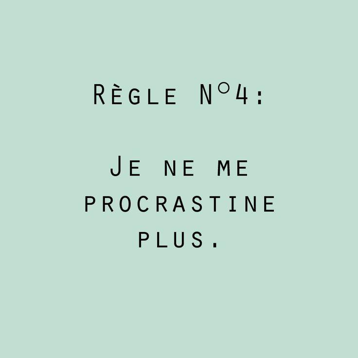 Post Scriptum #règle n°4#