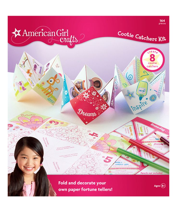 94 best cootie catchers images on pinterest crafts for for American girl craft kit