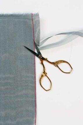 How to hem sheer fabric...