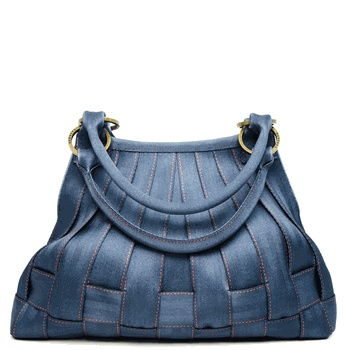 Seatbelt bags rock.  This one is denim and in a shape I do not yet own one of.  :)