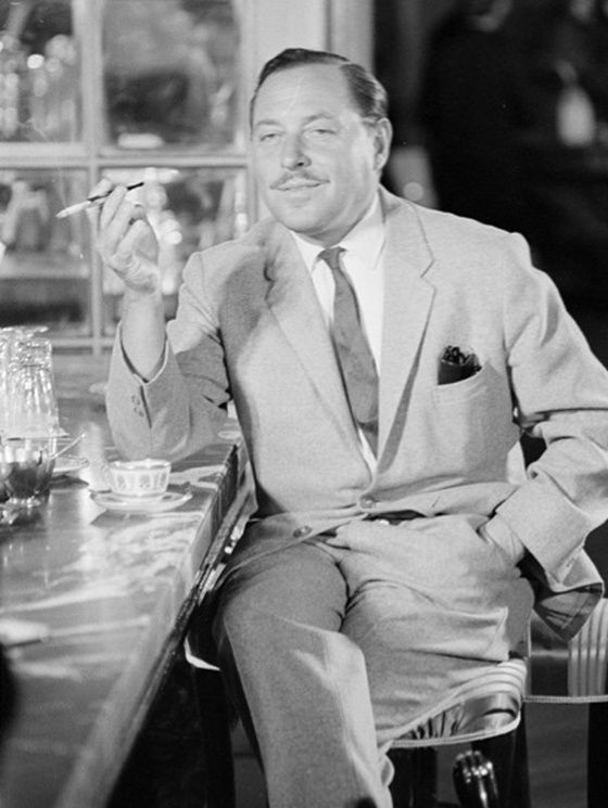 Tennessee Williams, Rome, 1961.