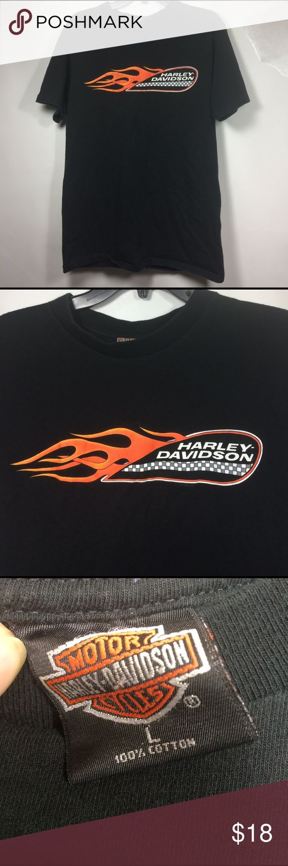 Men's size large Harley Davidson t shirt Men's size large Harley Davidson t shirt Alamo City, San Antonio Texas , great condition Harley-Davidson Shirts Tees - Short Sleeve