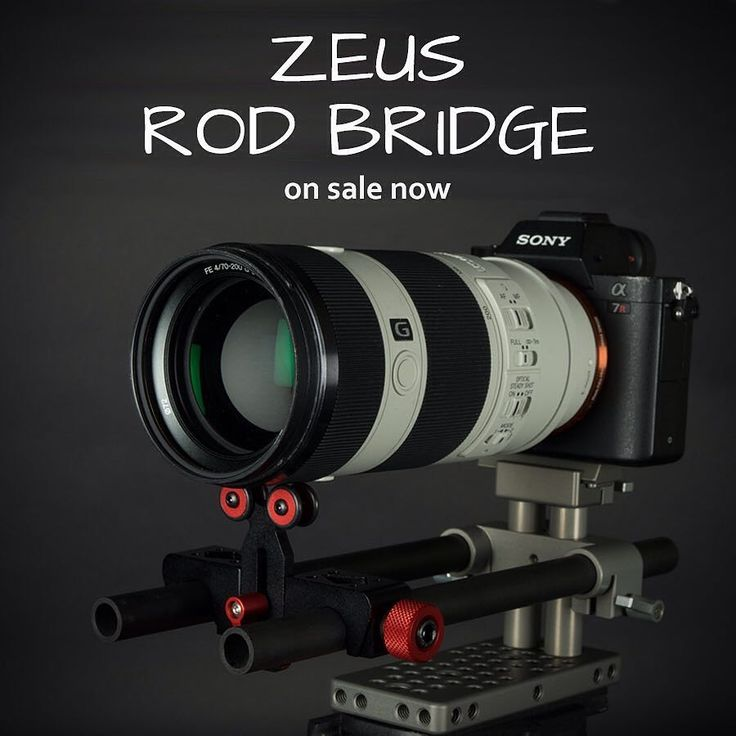 ZEUS RB - a rod bridge rail mounting system designed for the ZEUS family of cages. The rod bridge system is specifically optimized for A7R2 & A7S2. A professional rod support framework to support your camera and other accessories such as a matte-box follow-focus.  #varavon #videography #videoproduction #film #filmmakers #indiefilm #cinegearpro #videorig #dslrcameras #VaravonZeus #varavoncage #sonyA7SII #sony #varavoncage