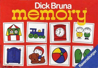 Dick Bruna Memory Game my sister had