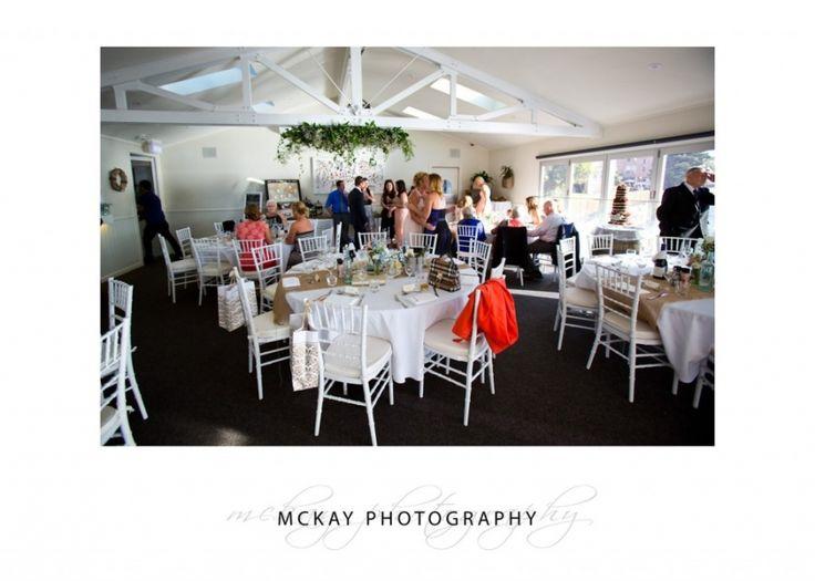 Krystle & Adam - room set up at Manly Skiff Club  #mckayphotography #manlyskiffclub #wedding