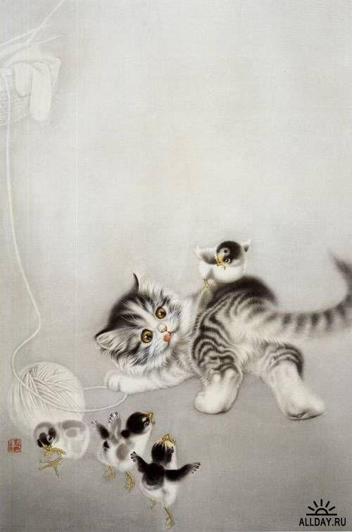 Художник  Сюй Синьци (Xu Xin)
