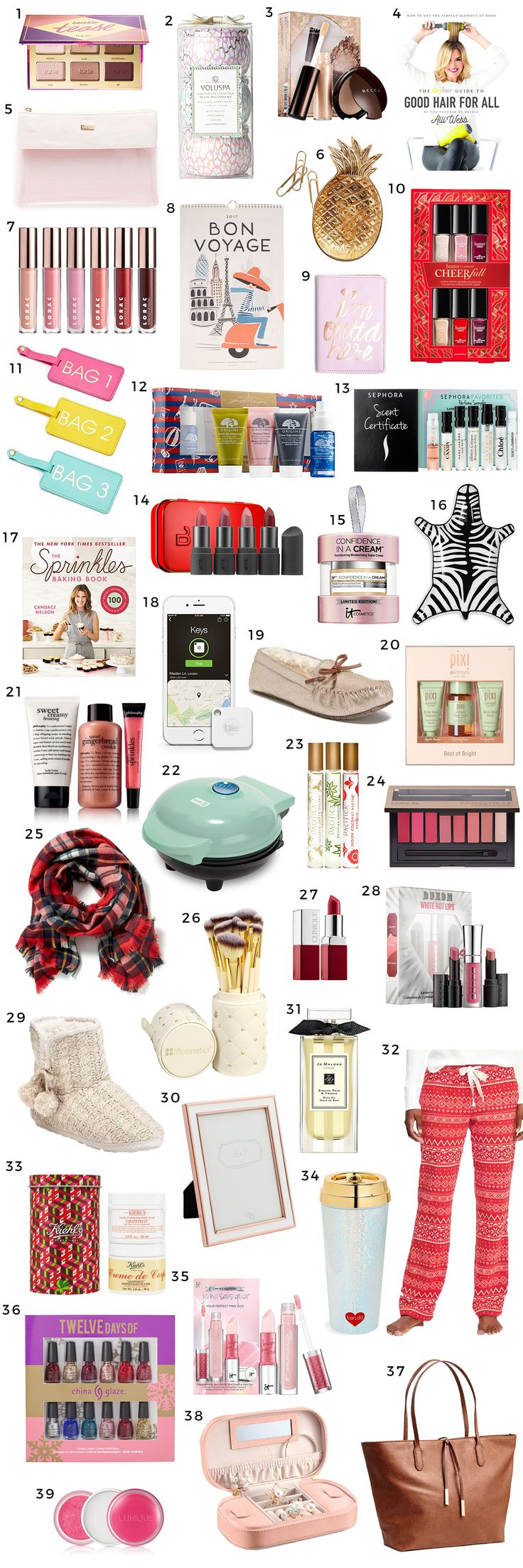 The Best Christmas Gift Ideas For Women Under 25