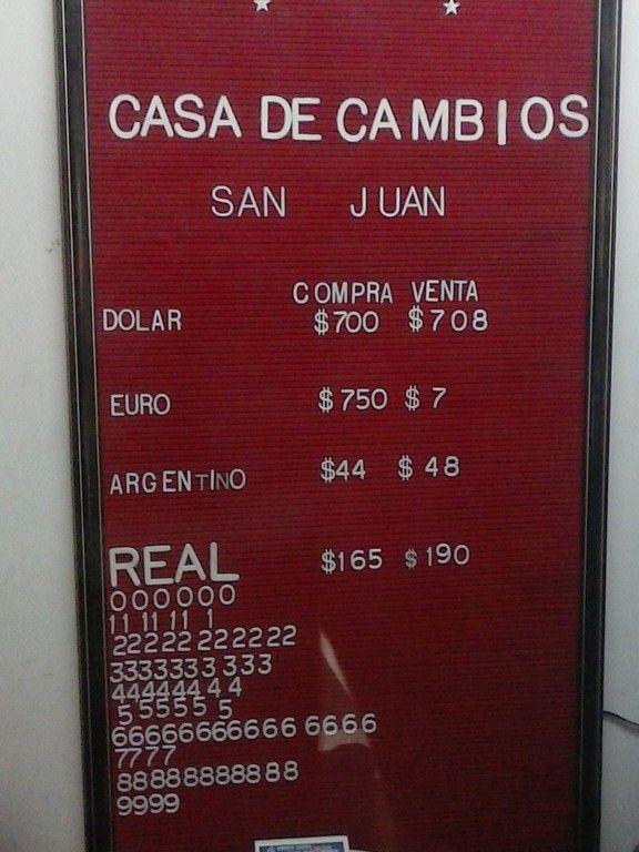 Hacé click y enterate a cuánto podés comprar pesos chilenos en la aduana y en las casas de cambio de Viña del Mar, según lleves euros, dólares o pesos argentinos.