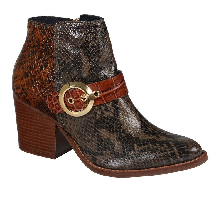 Ankle boot snake