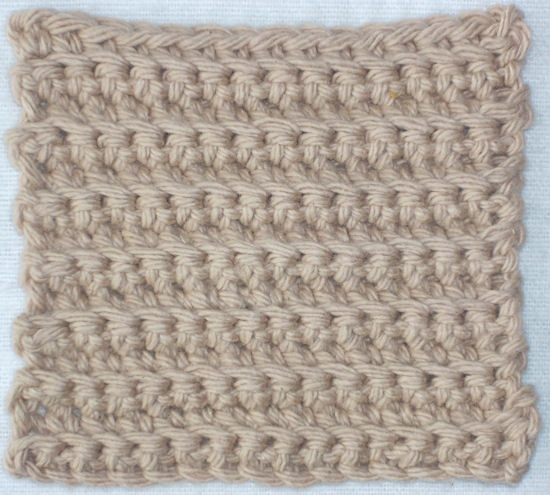 single crochet back loop only Crochet, One Day! Pinterest