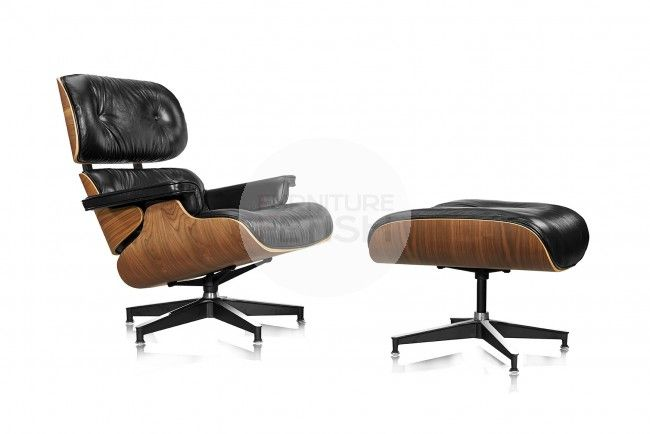 This Replica Charles Eames lounge chair and ottoman is a perfectly constructed and comfortable chair that will last forever. This Charles Eames lounge chair and ottoman is the best quality replica Furniture Fetish has ever seen right down to the wrinkles, the craftsmanship is next to perfect in comparison to the original.