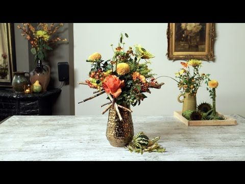 Gouden oktobermaand stilleven - YouTube