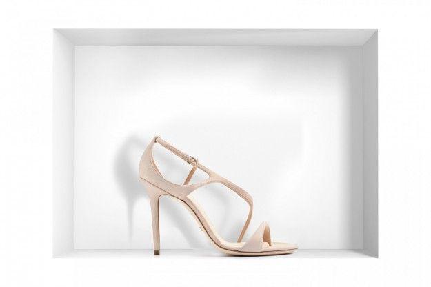 Sandali rosa cipria Dior