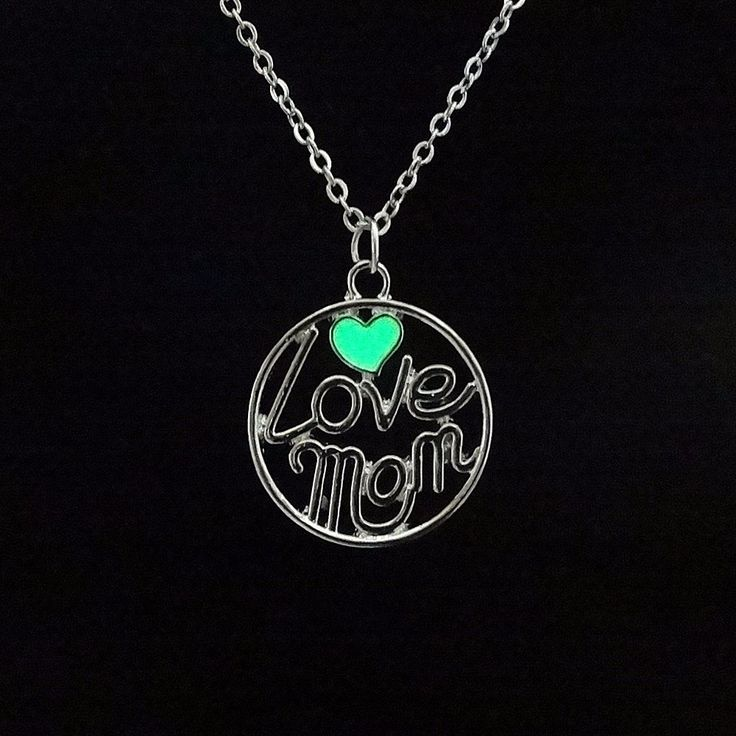 I Love Mom Necklace