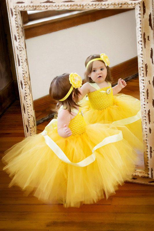 3T 4T 5T 6/7 FULL OUTFIT Belle Tutu Dress Belle Birthday