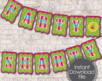 Indian Themed Bunting Flags - Desi Style, Banners, Party Sharty, Bhangra, Celebrations, Instant Download, Printable, Print your own, PDF