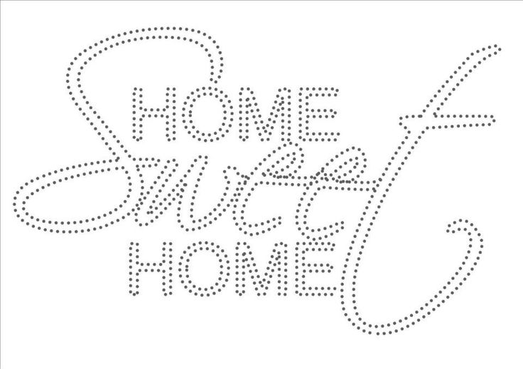 Home sweet home                                                                                                                                                                                 More