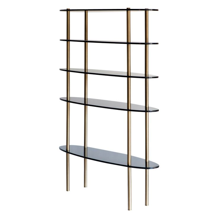 Buy Holiday Bookcase  by Brett Design - Made-to-Order designer Furniture from Dering Hall's collection of Contemporary Transitional Bookcases & Étageres.