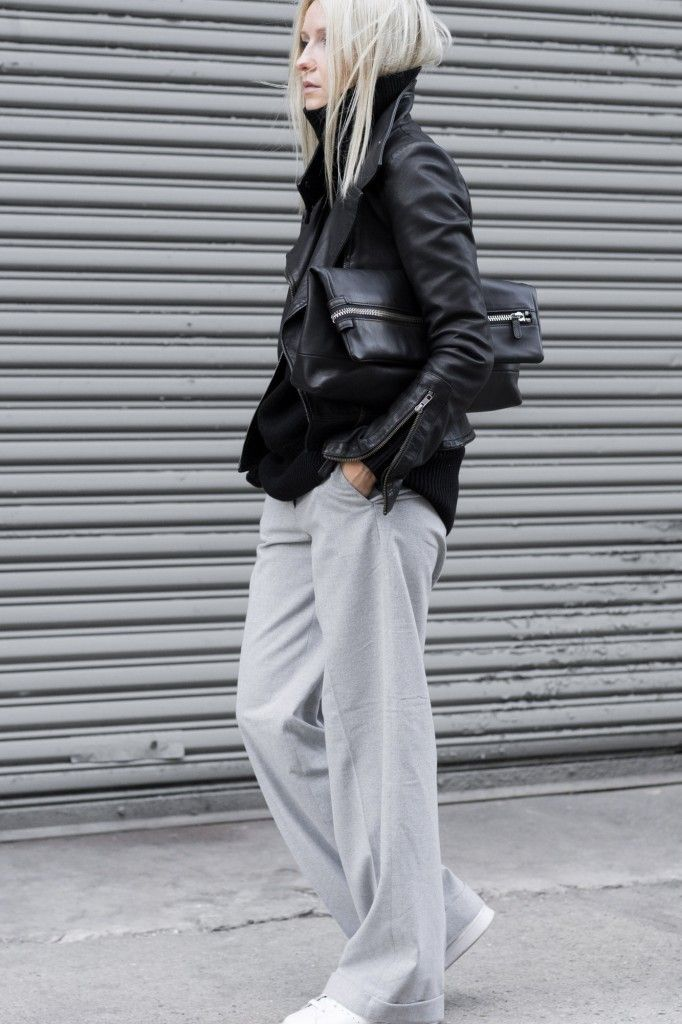 Sleek + Slouchy…