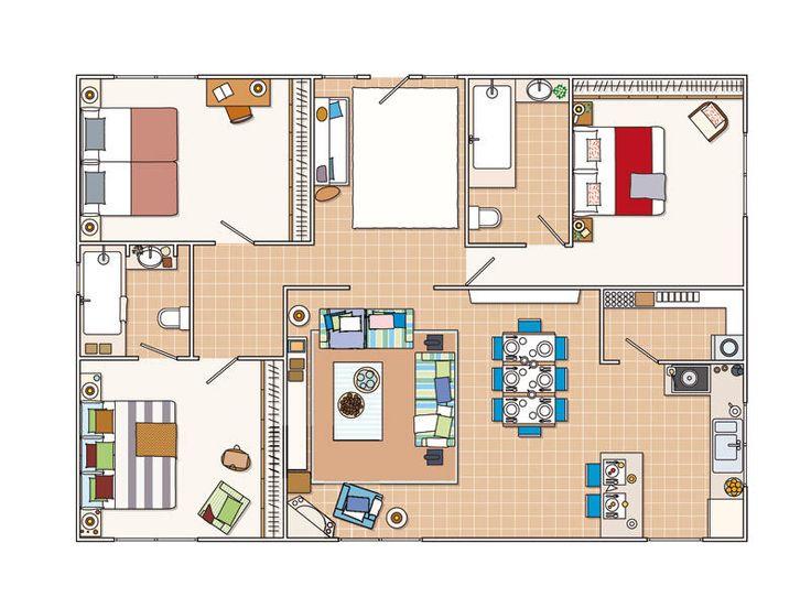 Las 25 mejores ideas sobre fachadas de casas bonitas en - Ideas para casas modernas ...