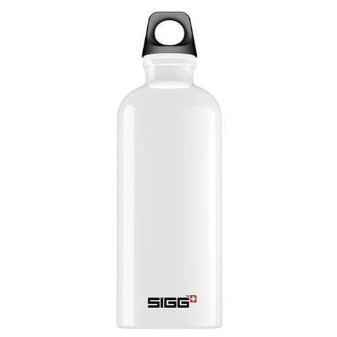 Sigg Water Bottle - Traveller - White - Case Of 6 - .6 Liter