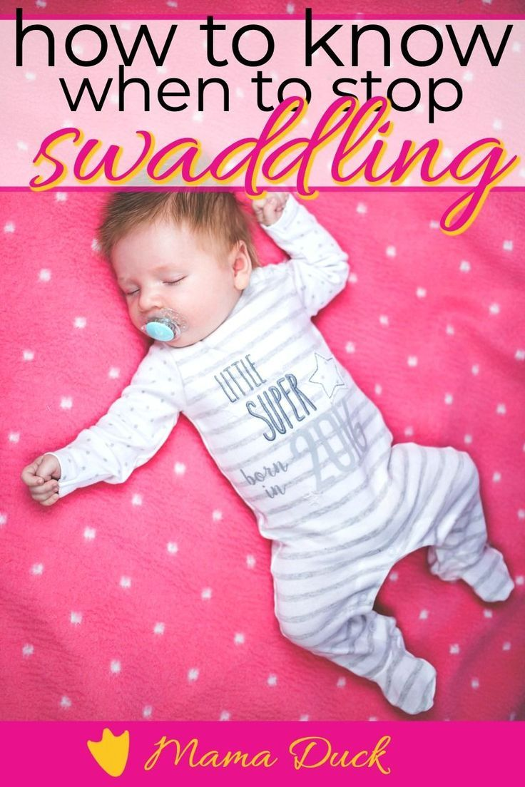 How to Know When to Stop Swaddling Baby in 2020 Baby