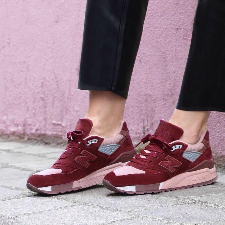 New Balance 998 x Girlsonmyfeet  by @girlsonmyfeet .  #nb #nb998 #newbalance998 #sneakers #sneakerholic #sneakerholics #solecollector #kicks #nicekicks #kicksoftheday #instakicks #kickstagram #sneakerheadsgermany #sneakerheads #sneakernews #hypefeet #onfeet #soleonfire #solenation #sneaker  #sneakerlove #complexkicks #gomf #girlsonmyfeet #sneakergirl #sneakerlove #pink #fashion #love