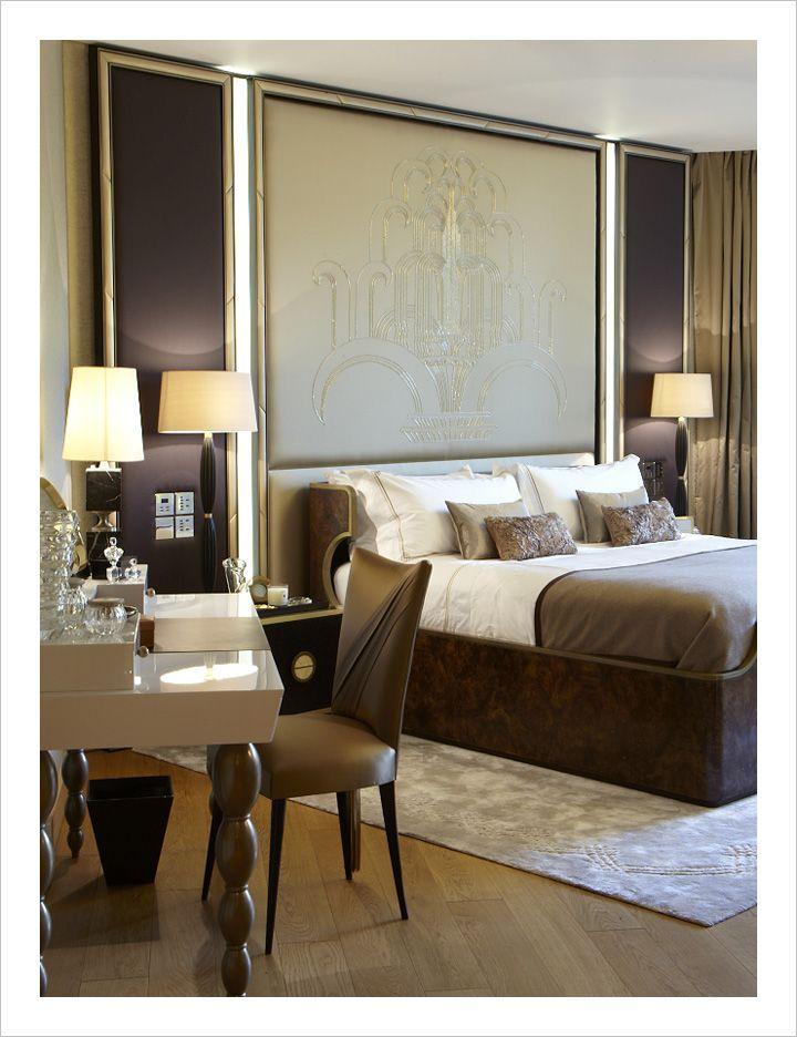Aubergine Bedroom