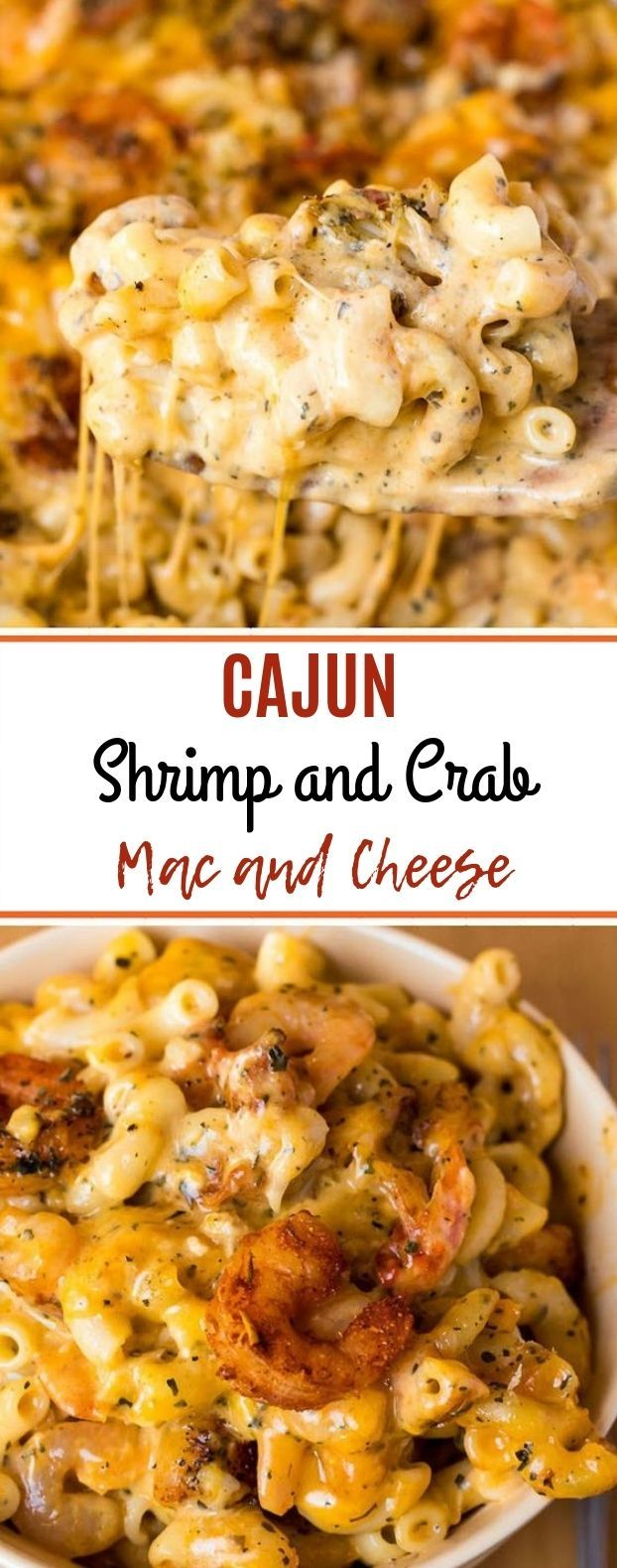 Cajun Shrimp and Crab Mac and Cheese #Macandcheese #Dinner – #cajun #dinner #maca …   – FOOD