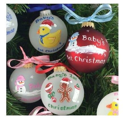 Local artist Audrey Boobar creates unique Baby's First Christmas ornaments for us!   www.babysfirstgifts.com