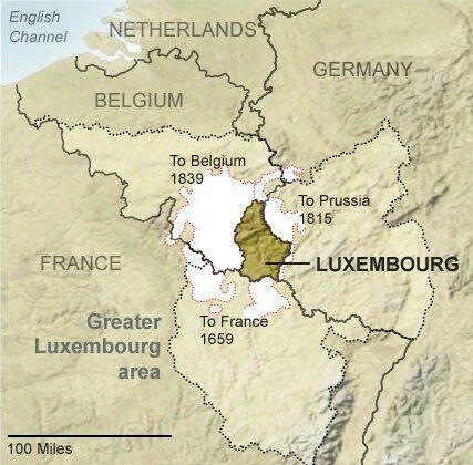 Best Mapas E Infografías Historia Images On Pinterest Maps - Luxembourg clickable map