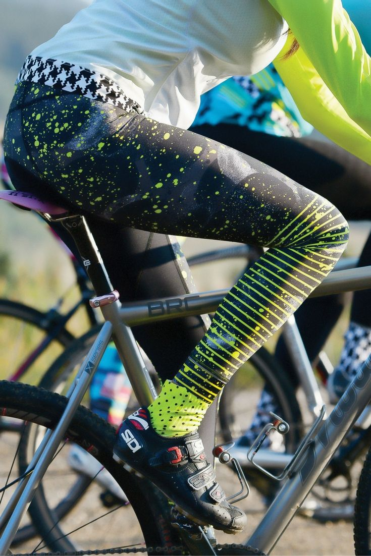 Bike apparel- reinvented for women. Cycling jerseys, pants, socks, and accessories will have you ready to gear up for you next ride. The perfect kits for womens cycling, triathlon clothes, or tri jerseys or kits, indoor or outdoor cycling.